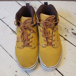 Vans high top sneaker.  Size 8.5